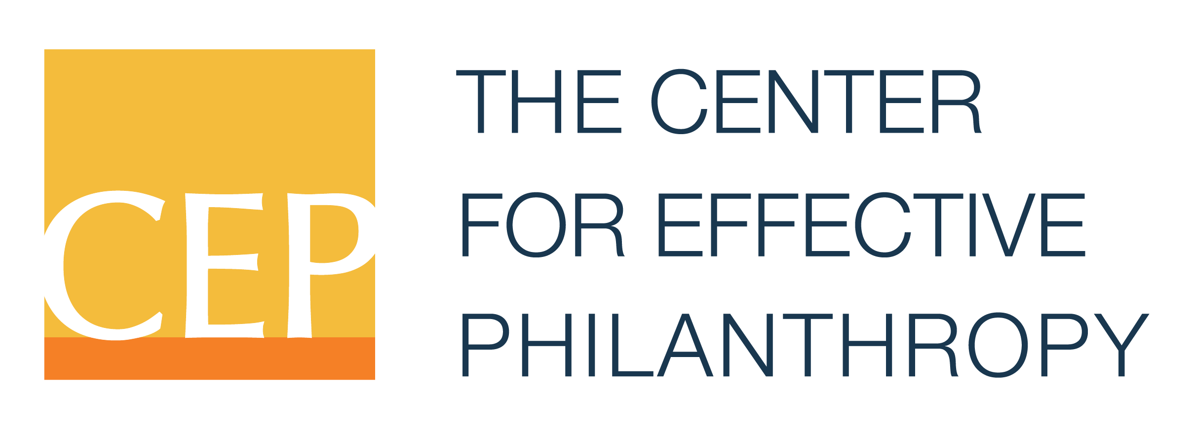 Center for Effective Philanthropy Logo