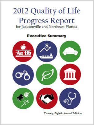 2013 Quality of Life Progress Report Cover
