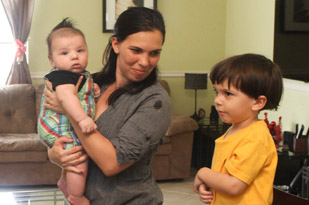Family Benefitting From Second Harvest's Health Begins At Birth