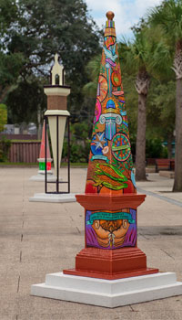 Obelisk Art 450 by Compassionate St. Augustine