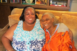 Annie Mae and her daughter Laverne